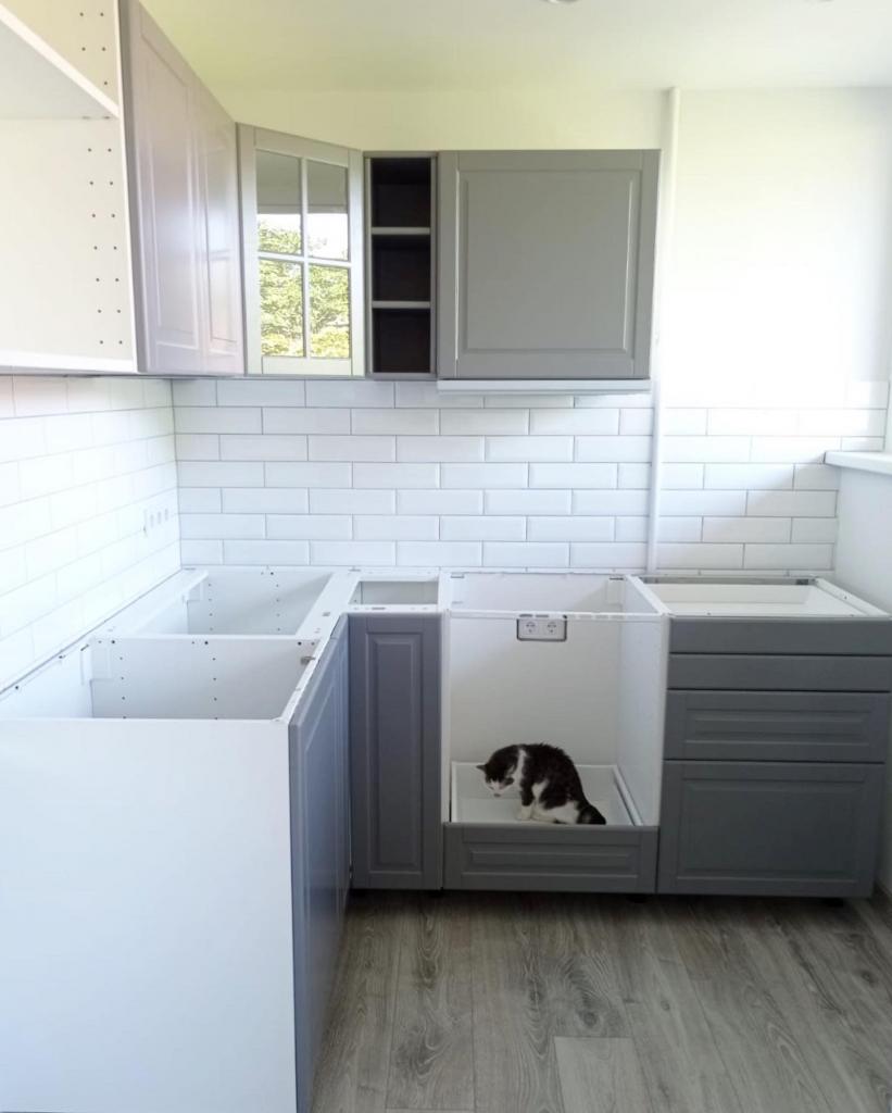 Ikea virtuve iekārta